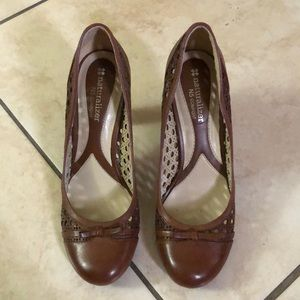 cc2cc0fe012 Brown naturalizer heels
